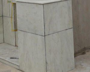 ビアンコカララを使用したお墓の洗浄&コーティング完了
