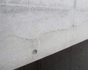 コンクリートのクラック補修&コーティング