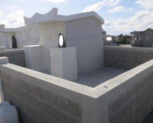 コンクリートのお墓の復元コーティング完了