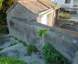 コンクリートのお墓の修繕
