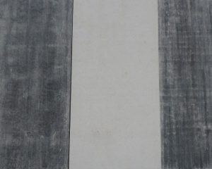 琉球石灰岩の表面を傷めないで黒カビ除去し特殊コーティング