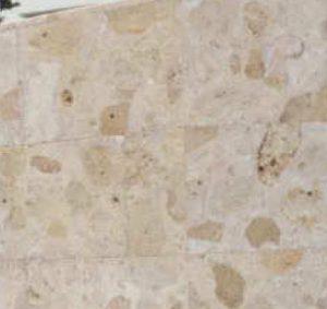 琉球石灰岩の特殊コーティングアフター