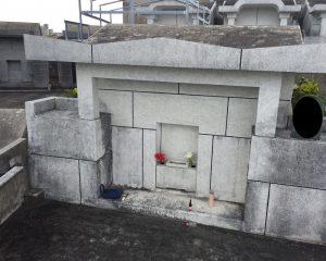 お墓のリフレッシュ施工前