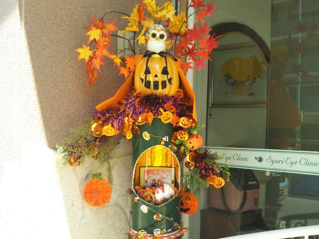 ハロウィンの竹バージョン。