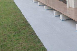 縁側のコンクリート改質と防カビ