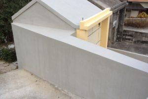 コンクリートのお墓の修繕完了