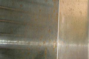 ステンレスの錆を適切処理法で除去して錆防止コーティング