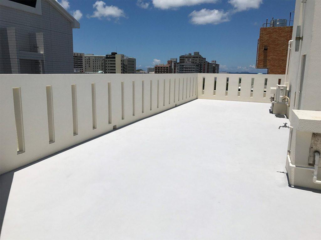 屋上の防水工事などメンテのランニングコストが安価