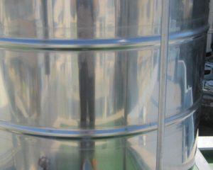 ステンレスタンク(貯水タンク)は、新品の状態でコーティングすることをお勧めします。